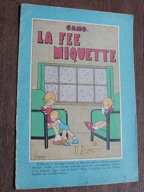 1932 Album Camo N°24 La fée Miquette livre enfants illustré