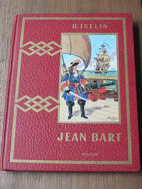 1956 Jean Bart, corsaire flamand, Iselin, cartonnage, roman historique