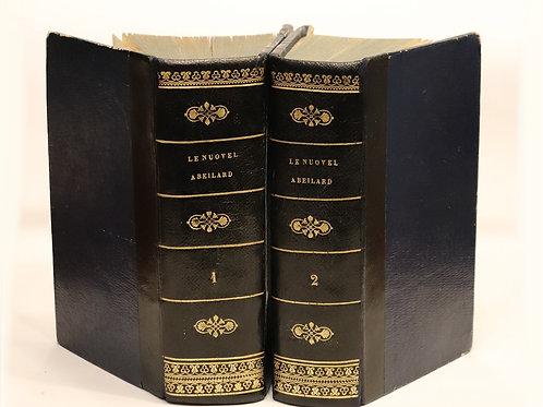 Rétif de la Bretonne [Restif de la Bretone]. Le Nouvel Abeilard (1779). Bel ex.
