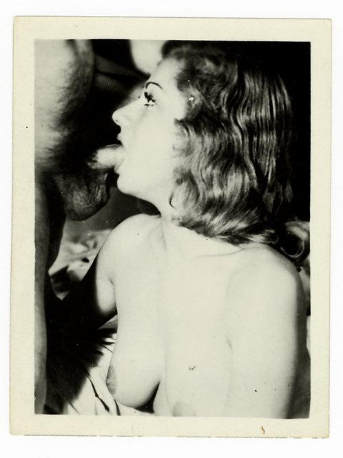 Photographie Amateur Vintage X (vers 1960) 12 x 9 cm. Ref. YY2