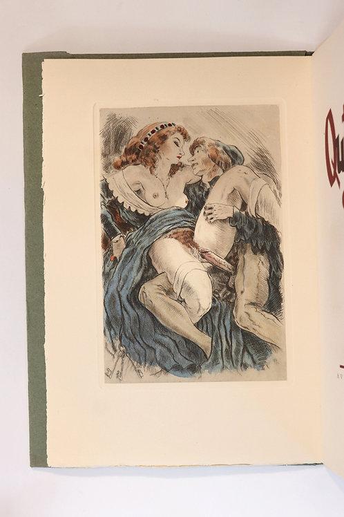 Les Quinze joies de mariage. Illustrations libres de Jean Traynier (1947) 150 ex