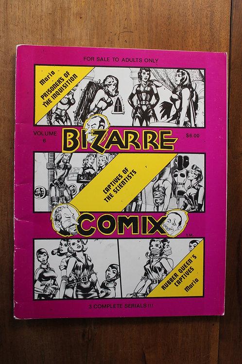BDSM. Bizarre Comix Volume 6. 1976. Sado-Masochisme. BD Adultes