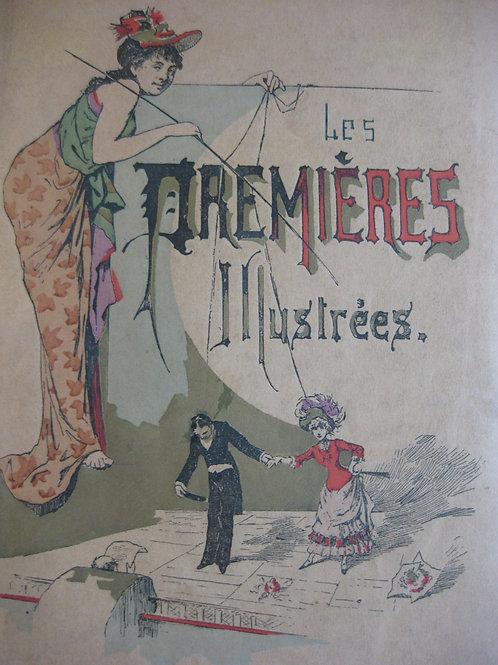 Les Premières illustrées Saison Théâtrale 1886-1887. Ex. Japon