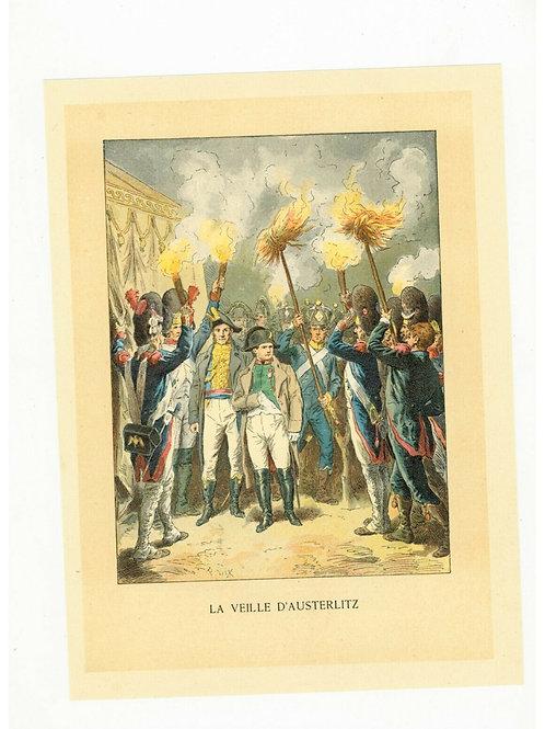 1893 Chromo Chromolithographie couleurs Histoire de France Frédéric Lix