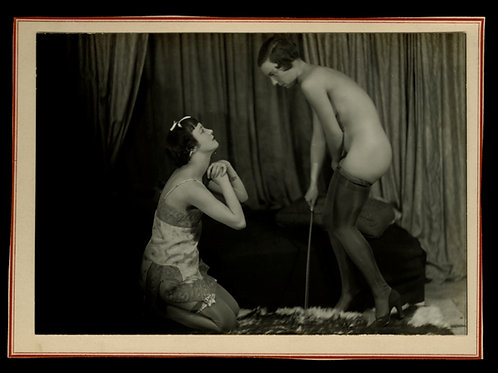 Les Délicieux caprices d'une jolie dominatrice (1934) BDSM Fessée Spanking Rare