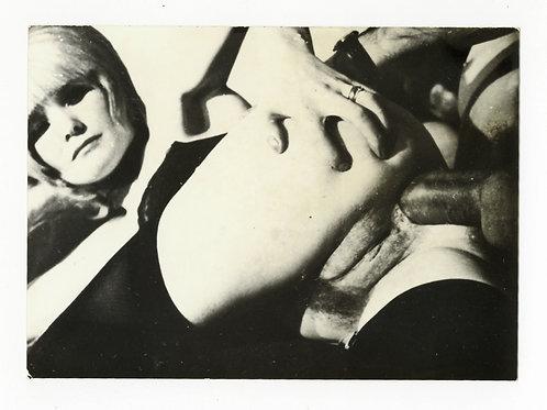 """Photographie Amateur Vintage X vers 1965 """"Gomorrhe"""". Ref XX12"""