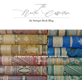 The Noetic Collective an Antique Book Blog by Johnna. A wonderful world about Victorian era books.