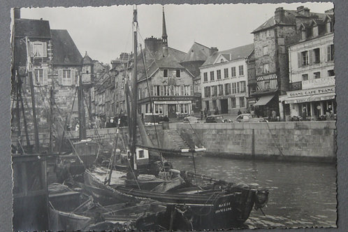 Honfleur Normandie. Photographie originale années 1950