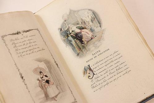 Boufflers. Aline, Reine de Golconde, conte (1887). Très rare tirage.