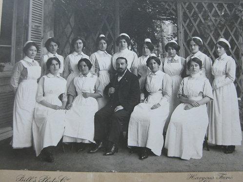 Photographie ancienne Femmes de chambre Hôtel