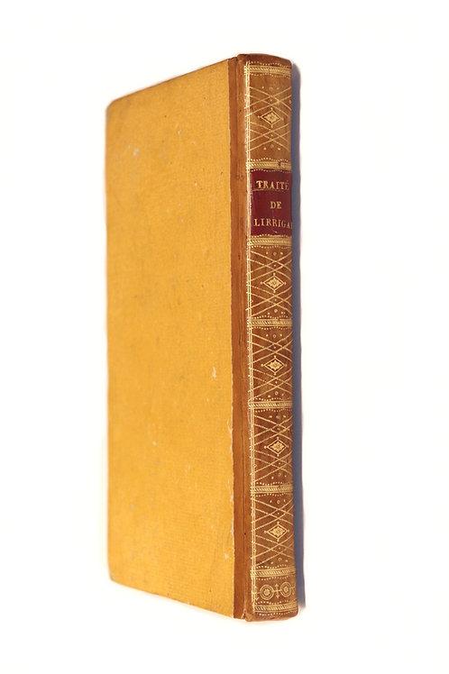 W. Tatham. Traité général de l'irrigation (1803). EO française. Bel exemplaire