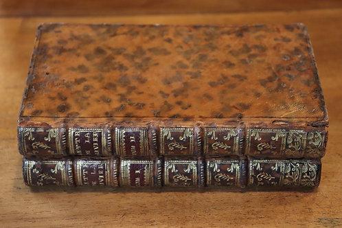 La Rivière / Bussy-Rabutin. Lettres choisies et Procès (1751). Bel exemplaire