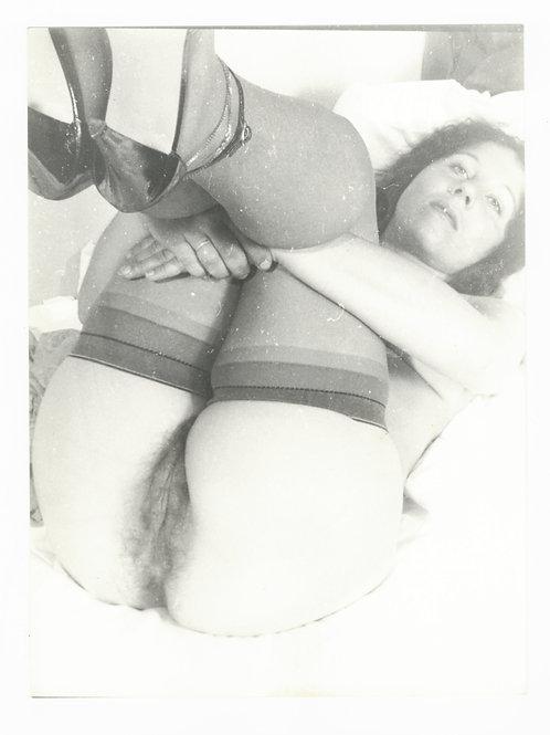 Photographie Amateur Vintage Nu féminin vers 1965. Ref. 959