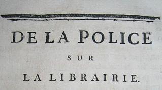 De la police sur la librairie, l'an second de la liberté, par Pierre-Louis Manuel (1751-1793)