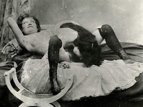 Photographie X 1900 d'après plaque de verre (retirage). Ref. 0233
