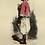 Thumbnail: 1842 LE NÈGRE ALGER Les Français ... estampe aquarellée époque
