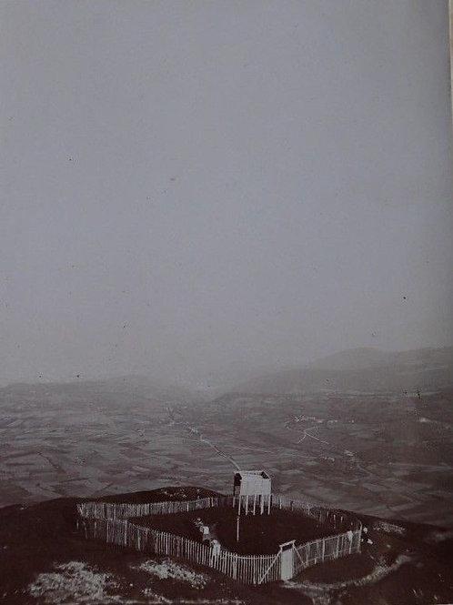 Photographie ancienne 1899 vue Puy-de-Dôme La Limagne Clermont-Ferrand Auvergne