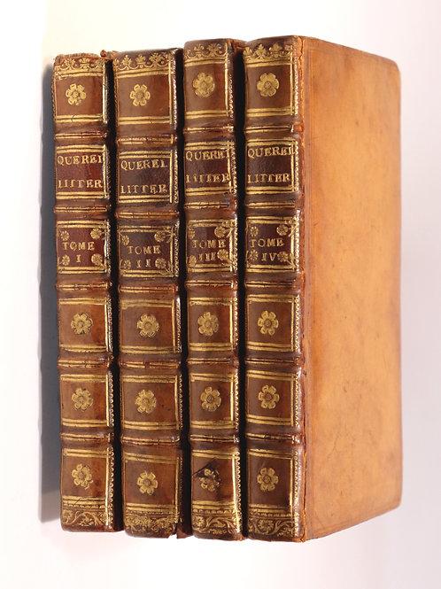 Auguste Simon Irailh. Querelles littéraires, ou Mémoires etc (1761). EO