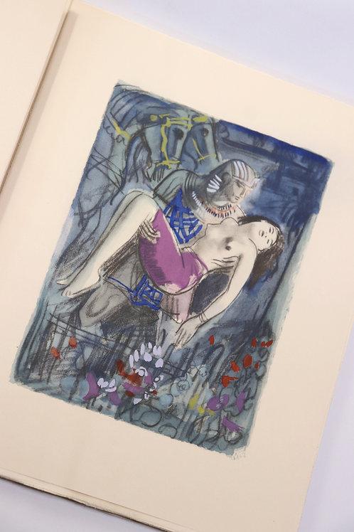 Théophile Gautier. Le roman de la momie. Illustrations par Uzelac (1947). 1/26