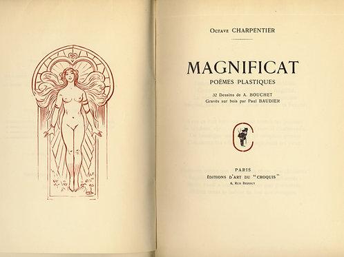 Octave Charpentier. Baudier. Bouchet. Magnificat. 1/35 ex. Japon. Femme.