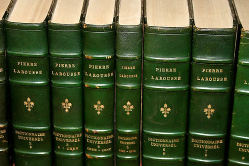 Pierre Larousse. Grand Dictionnaire Universel (1866-1876). 15 volumes