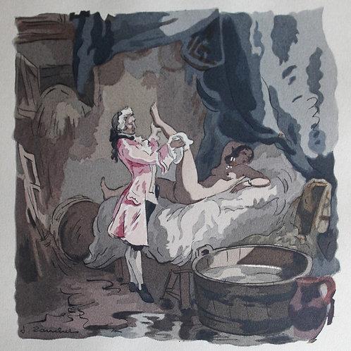 Mémoires de Casanova illustrés par Touchet (1947) avec suite libre