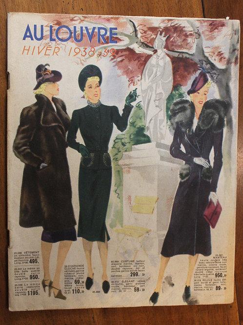 Catalogues Au Louvre Paris 1938 Grands magasins