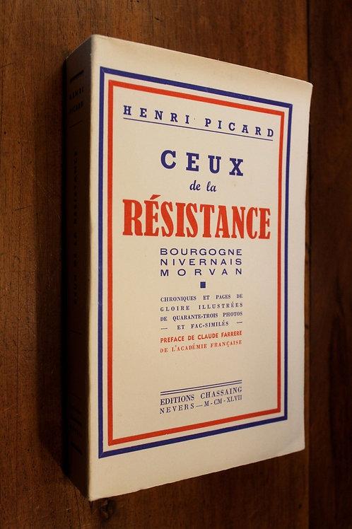 1947 Ceux de la Résistance Morvan Nivernais Bourgogne