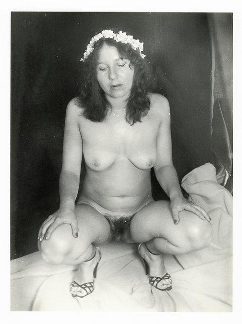 Photographie Amateur Vintage Nu féminin vers 1965. Ref. 981