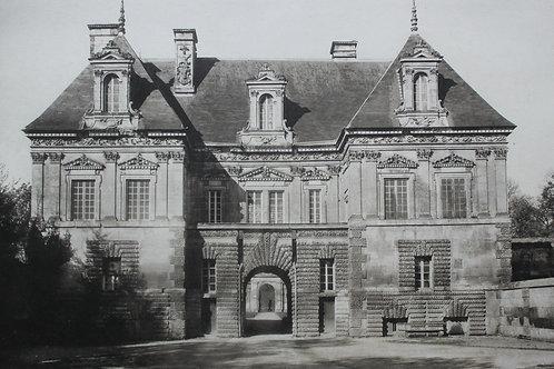 Château de Bourgogne : Tanlay (Yonne). Photogravure grand format