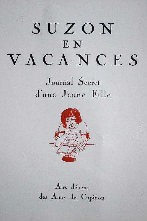 Les Vacances de Suzon illustrées par Courbouleix (1968). Edition Fac-similé