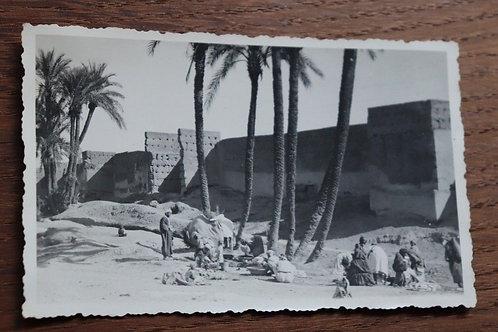 Photo ancienne vers 1930 Maroc Afrique Marrakech