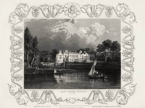 William Tombleson's Thames [LA TAMISE] 79 gravures sur acier. Bel exemplaire