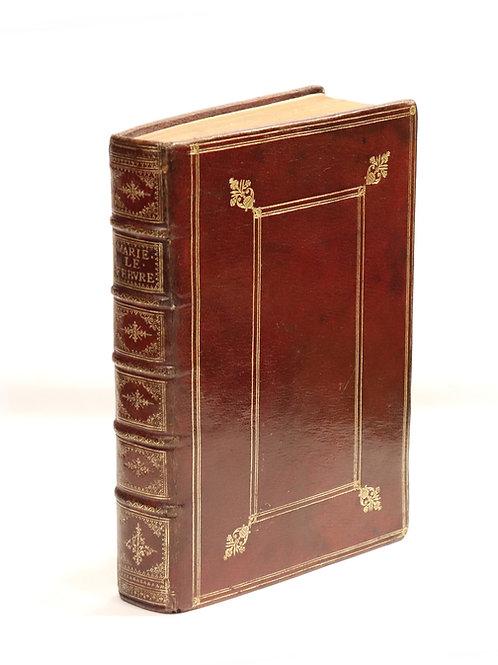 Le Maistre de Sacy. Les Heures de Port-Royal (1650). Jansénisme. Maroquin.