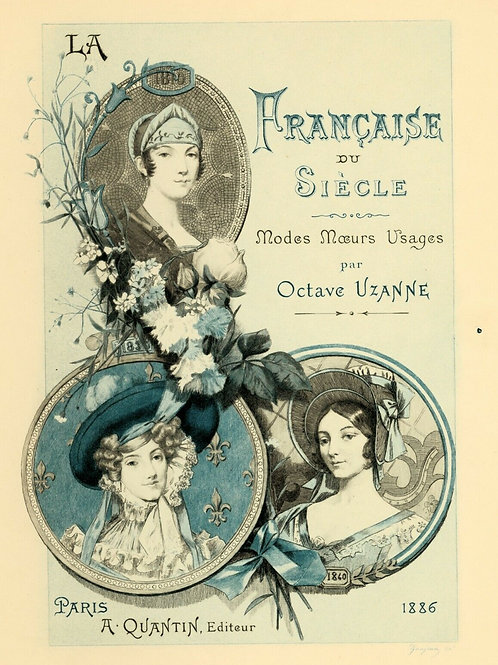 1885 Estampe originale Gaujean Française du siècle pour Uzanne sur Grand Japon