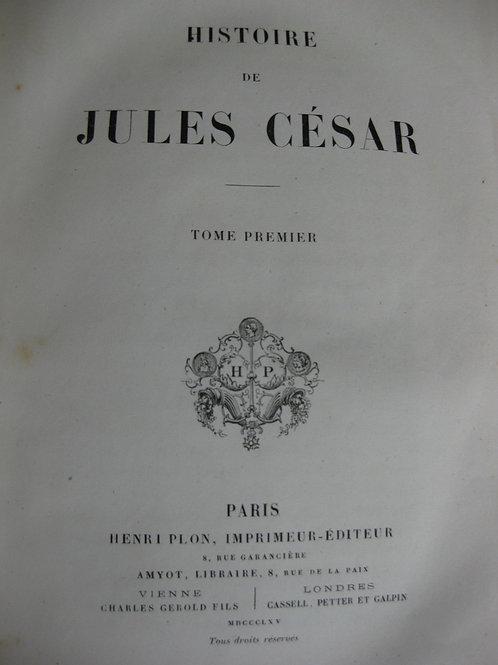 1886 Histoire de Jules César par Napoléon III, La guerre des Gaules