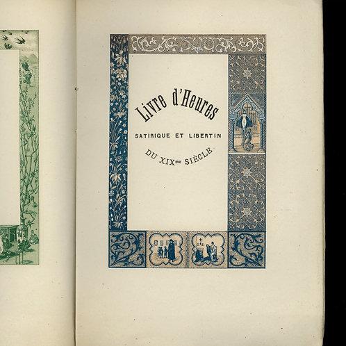 Henry Kistemaeckers. Le Livre d'Heures satirique et libertin (1888) Anticlérical