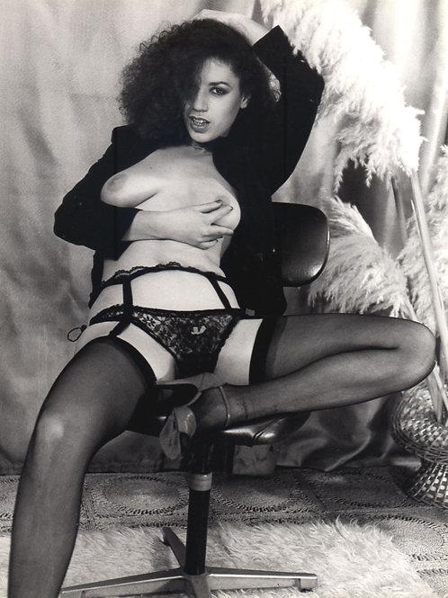 Nu. Photographie originale érotique de Alain Armez (vers 1975)