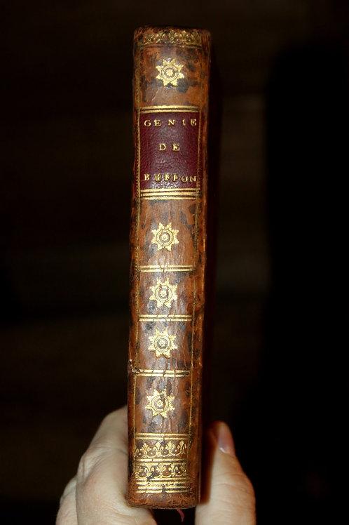 Génie de Buffon par Ferry de Saint Constant (1778). Bel exemplaire