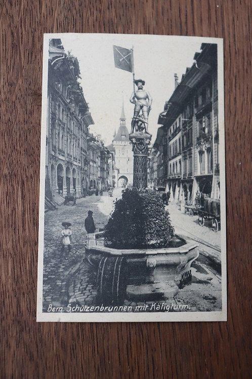 CPA Berne Fontaine de l'Arquebusier Tour des prisons Suisse Bern