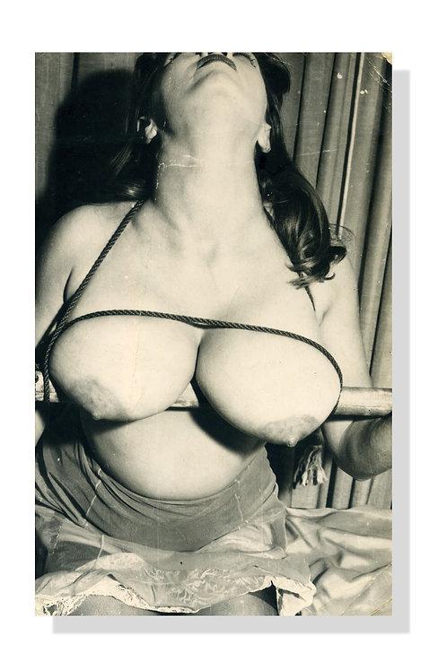 16 photographies argentiques Bondage par un anonyme (Jack the binder)