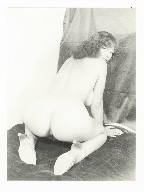 Photographie Amateur Vintage Nu féminin vers 1965. Ref. 957