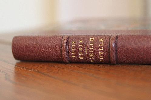 Louis Morin. Vieille Idylle (1891). Imprimé pour Léon Conquet et ses amis
