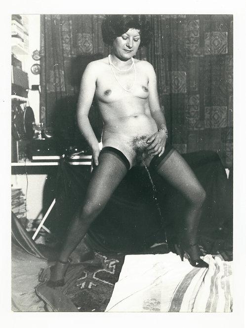 Photographie Amateur Vintage Nu féminin vers 1965. Ref. 937