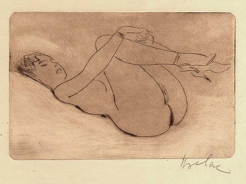 Les Contes Libertins du Pogge, illustré par Uzelac (1950)