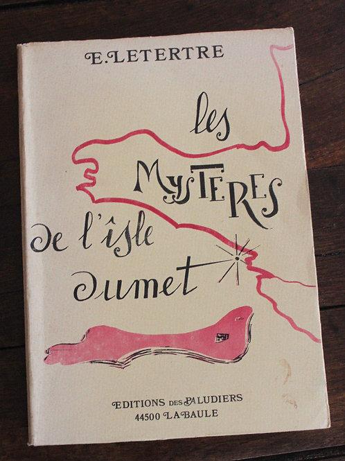 1975 Les mystères de l'îsle Dumet par Letertre