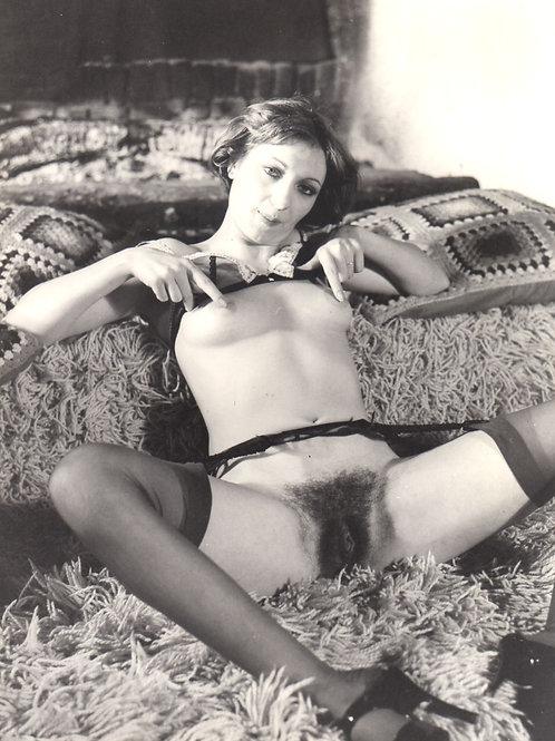 Photographie originale érotique attribuée à Hubert Toyot (vers 1970)