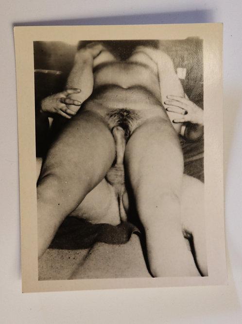 Photographie Amateur Vintage X (vers 1960) 11 x 9 cm. Ref. XX17