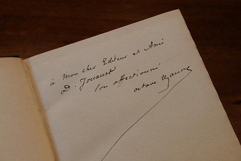 Octave Uzanne. Mathieu de Montreuil. Poésies (1878). 1/15 ex. Chine Jouaust