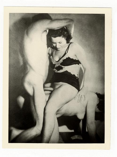 Photographie Amateur Vintage X (vers 1960) 12 x 9 cm. Ref. YY5